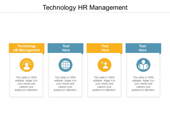 Technology HR Management Ppt PowerPoint Presentation Infographic Template Microsoft Cpb