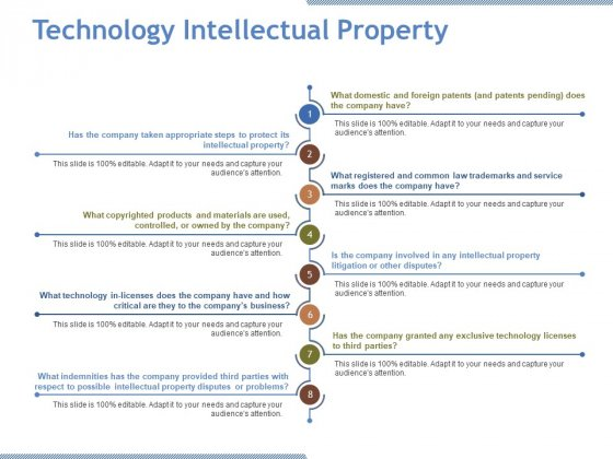 Technology Intellectual Property Template 1 Ppt PowerPoint Presentation Ideas Graphic Images