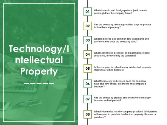 Technology Intellectual Property Template 2 Ppt PowerPoint Presentation Layouts Portfolio