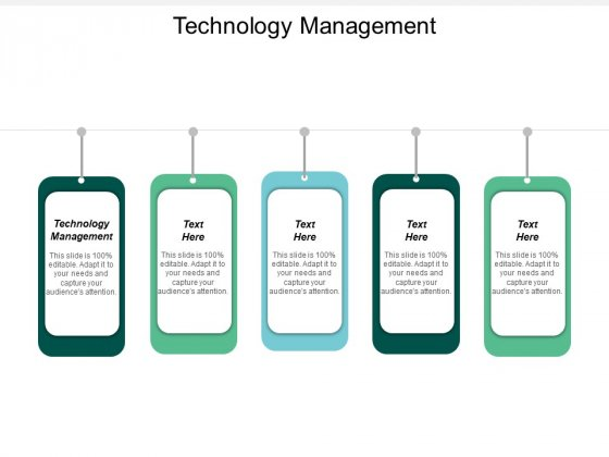 Technology Management Ppt PowerPoint Presentation Infographic Template Layout Cpb