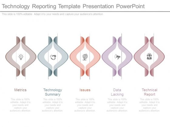 Technology Reporting Template Presentation Powerpoint