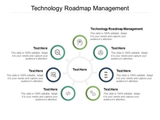Technology Roadmap Management Ppt PowerPoint Presentation Model Show Cpb