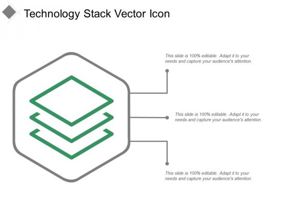 Technology Stack Vector Icon Ppt PowerPoint Presentation Pictures Model