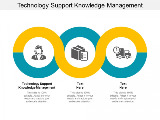 Technology Support Knowledge Management Ppt PowerPoint Presentation Model Elements Cpb