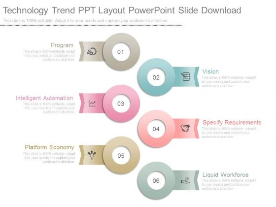 technology trend ppt layout powerpoint slide download powerpoint