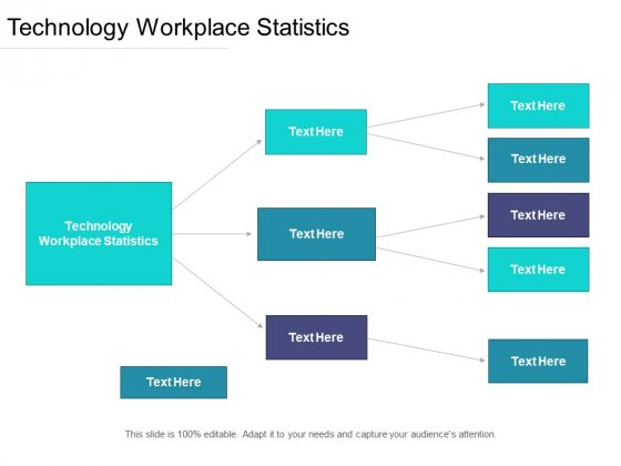Technology Workplace Statistics Ppt PowerPoint Presentation Show Microsoft Cpb Pdf