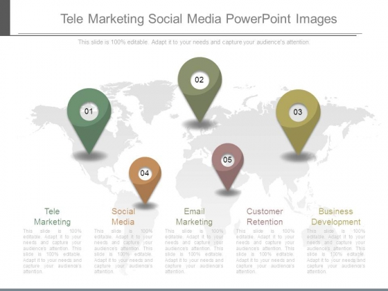 Tele Marketing Social Media Powerpoint Images