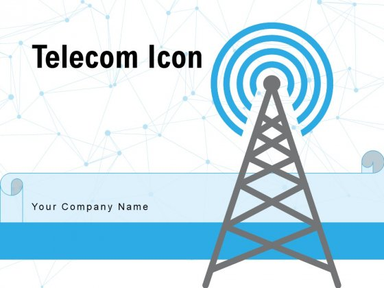 Telecom Icon Frequency Mobile Ppt PowerPoint Presentation Complete Deck