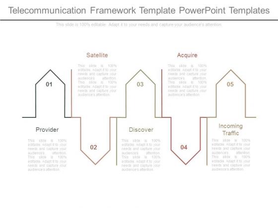 Telecommunication Framework Template Powerpoint Templates