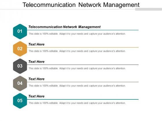 Telecommunication Network Management Ppt PowerPoint Presentation Ideas Portfolio Cpb