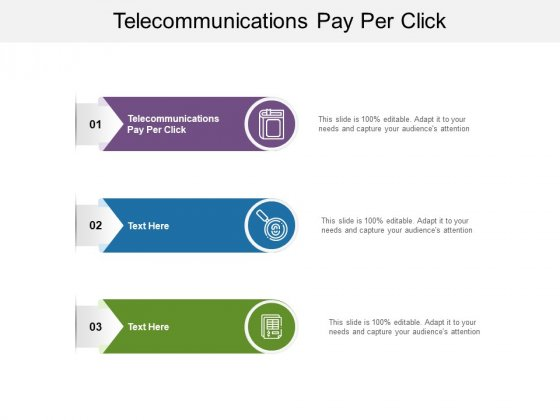Telecommunications Pay Per Click Ppt PowerPoint Presentation Infographic Template Good Cpb Pdf