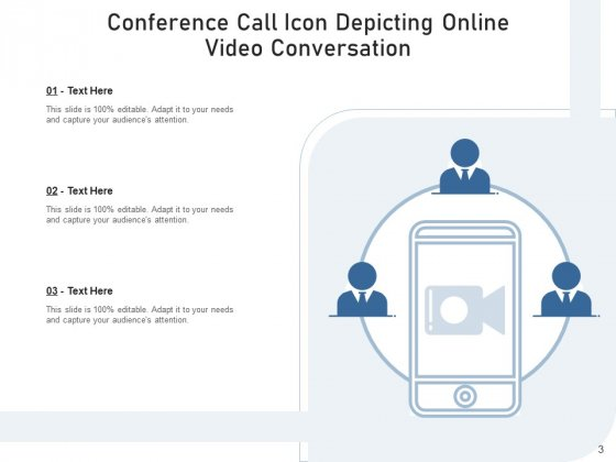 Teleconference_Icon_Conference_Call_Teamwork_Ppt_PowerPoint_Presentation_Complete_Deck_Slide_3