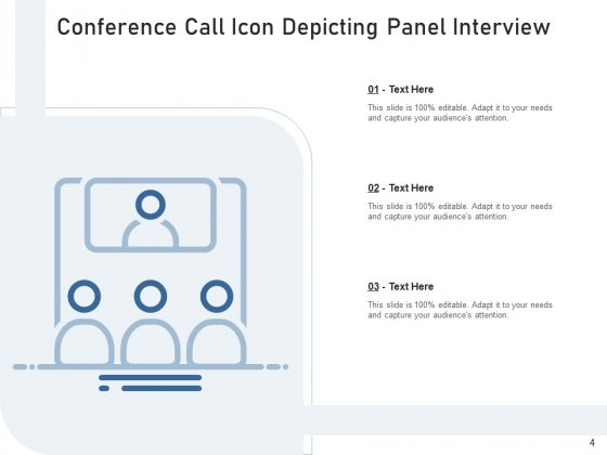 Teleconference_Icon_Conference_Call_Teamwork_Ppt_PowerPoint_Presentation_Complete_Deck_Slide_4