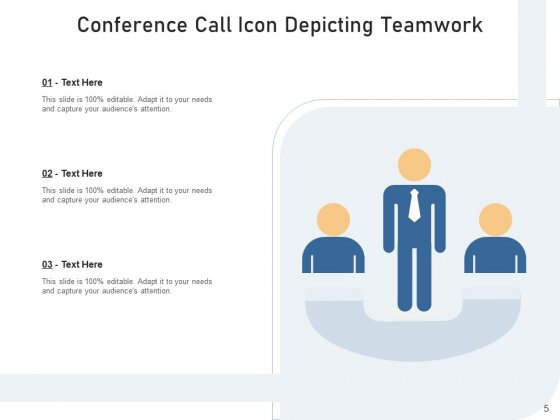 Teleconference_Icon_Conference_Call_Teamwork_Ppt_PowerPoint_Presentation_Complete_Deck_Slide_5