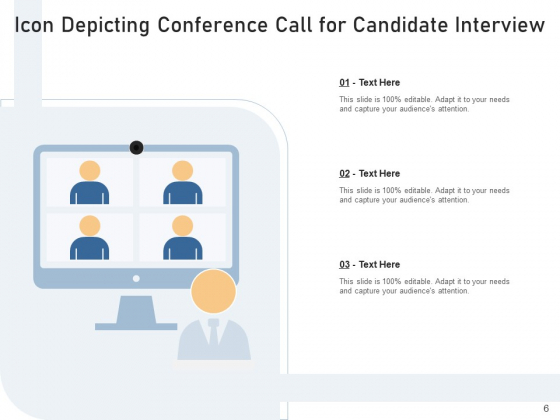 Teleconference_Icon_Conference_Call_Teamwork_Ppt_PowerPoint_Presentation_Complete_Deck_Slide_6