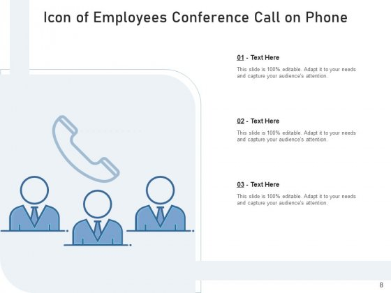 Teleconference_Icon_Conference_Call_Teamwork_Ppt_PowerPoint_Presentation_Complete_Deck_Slide_8