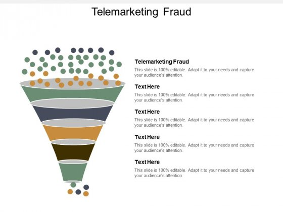 Telemarketing Fraud Ppt PowerPoint Presentation Summary Display Cpb