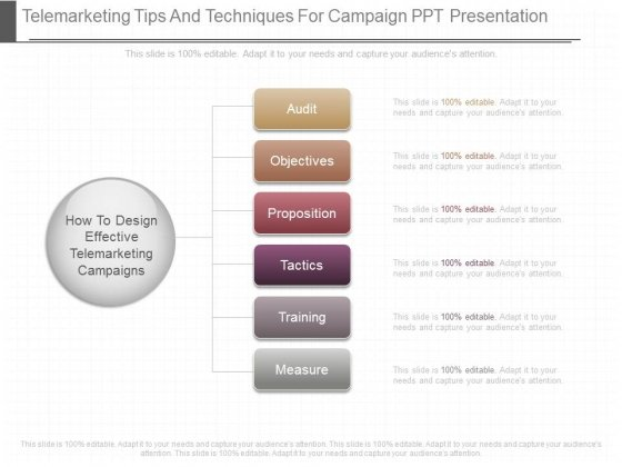 Telemarketing Tips And Techniques For Campaign Ppt Presentation