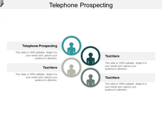 Telephone Prospecting Ppt PowerPoint Presentation Pictures Design Ideas Cpb