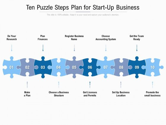 Ten_Puzzle_Steps_Plan_For_Start_Up_Business_Ppt_PowerPoint_Presentation_Styles_Example_File_Slide_1