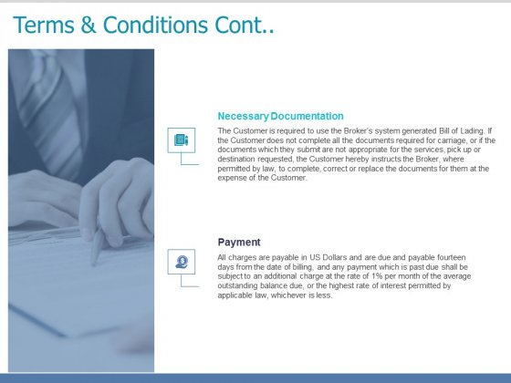 Terms And Conditions Cont Planning Ppt PowerPoint Presentation Icon Portrait