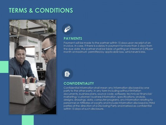 Terms And Conditions Payments Ppt PowerPoint Presentation Slides Files