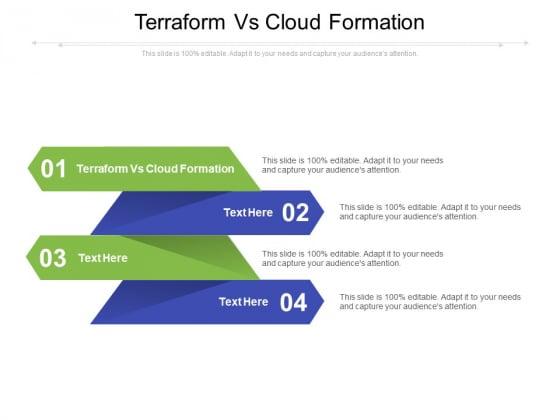 Terraform Vs Cloud Formation Ppt PowerPoint Presentation File Slide Download Cpb Pdf