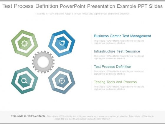 test process definition powerpoint presentation example ppt slides