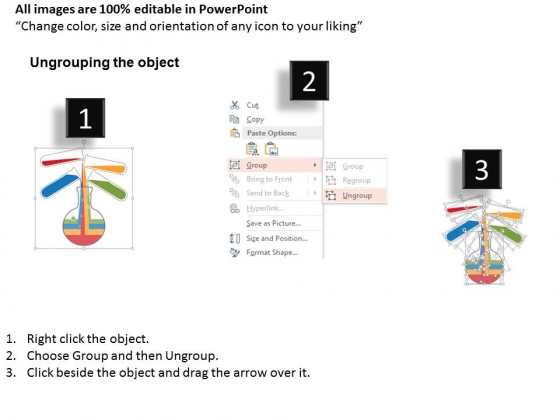 Test_Tubes_And_Beaker_For_Ratio_Analysis_Powerpoint_Template_2
