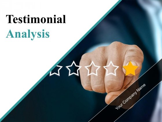 Testimonial Analysis Ppt PowerPoint Presentation Complete Deck With Slides