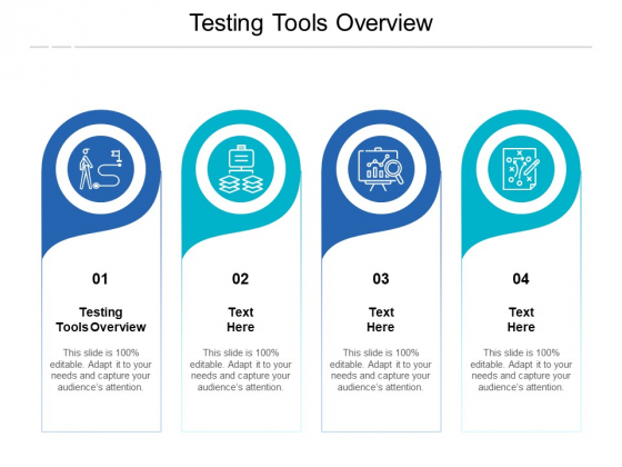 Testing Tools Overview Ppt PowerPoint Presentation Model Background Designs Cpb