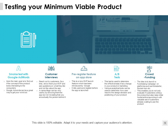 Testing Your Minimum Viable Product Crowd Ppt PowerPoint Presentation Inspiration Icon