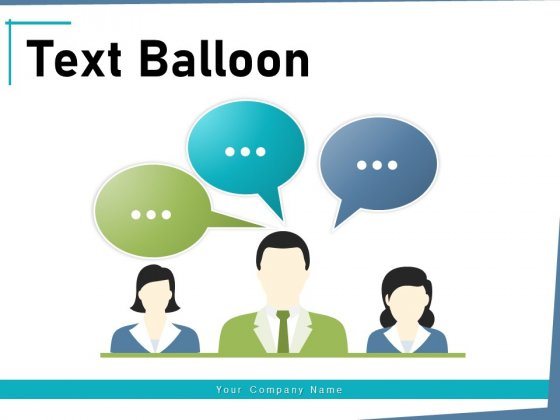 Text Balloon Financial Objectives Ppt PowerPoint Presentation Complete Deck