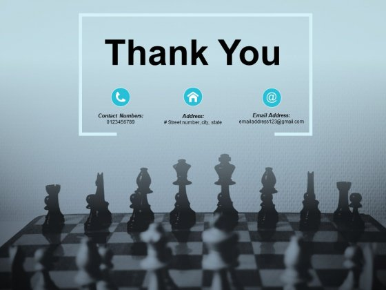 Thank You At Kearney Chessboard Ppt PowerPoint Presentation Layouts Clipart