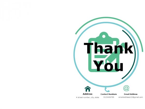Thank You Business Publicity Ppt Powerpoint Presentation Infographics Ideas