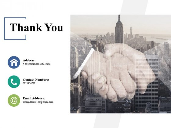 Thank You Career Linear Process Ppt PowerPoint Presentation Model Slideshow