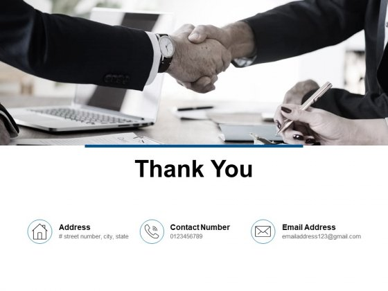 Thank You Company Operations Management Ppt PowerPoint Presentation Styles Icons