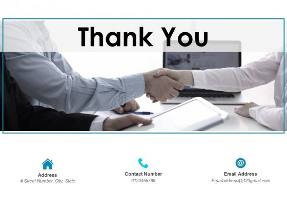 Thank You Corporate Budget Variance Report Ppt PowerPoint Presentation Visual Aids Gallery