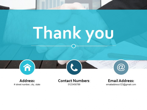 Thank You Example Presentation Marketing Ppt Powerpoint Presentation Styles Samples