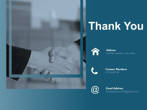Thank You Financial Planning Ppt Powerpoint Presentation Model Templates