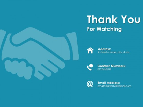 Thank You For Watching Mobile Strategy Ppt Powerpoint Presentation Styles Sample