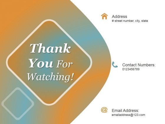 Thank You For Watching Ppt PowerPoint Presentation Designs Download