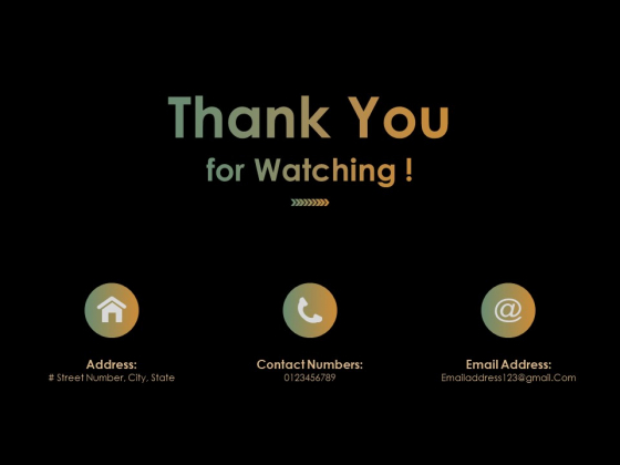 Thank You For Watching Ppt PowerPoint Presentation Ideas Microsoft