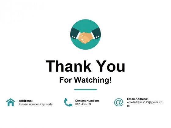 Thank You For Watching Ppt PowerPoint Presentation Infographic Template Pictures