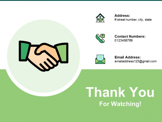 Thank You For Watching Ppt PowerPoint Presentation Infographics Background Designs