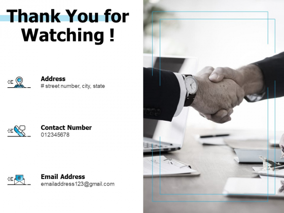 Thank You For Watching Ppt PowerPoint Presentation Inspiration Graphic Images