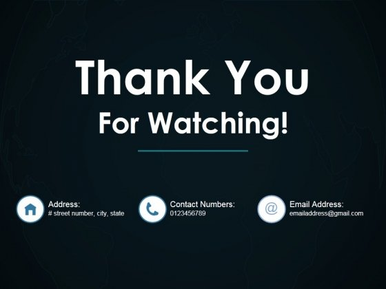 Thank You For Watching Ppt PowerPoint Presentation Inspiration