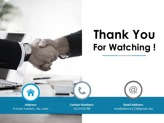 Thank You For Watching Ppt PowerPoint Presentation Outline Introduction