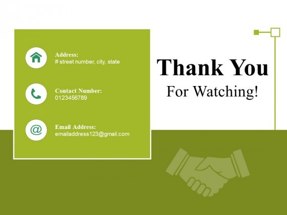 Thank You For Watching Ppt PowerPoint Presentation Show Samples