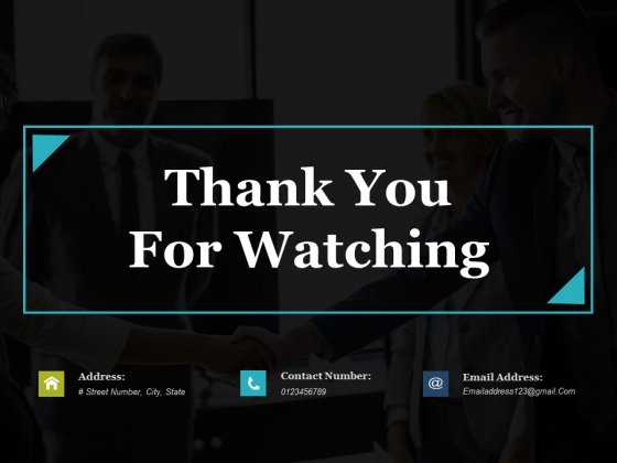 Thank You For Watching Ppt PowerPoint Presentation Slides Pictures
